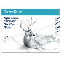CARREFOUR - Papier calque - 24 x 32 cm