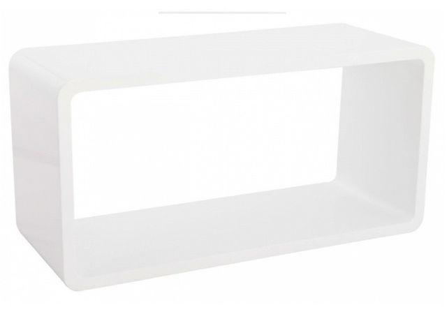 Declikdeco Cette jolie Table basse blanc laquée Maly est une table aux lignes épurées qui apportera une petite touche de design à v
