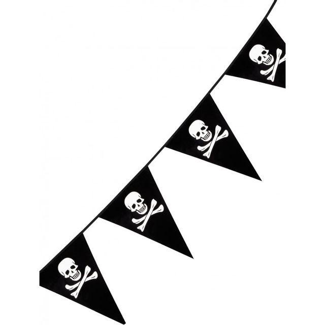 Boland - Guirlande pirates à fanions 6 m