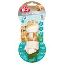 8IN1 - Friandise Os à Mâcher Delights Pro Dental S pour Petit Chien - 50g