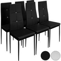 Chaise Cuir Noir Salle Manger Bientot Les Soldes Chaise Cuir Noir