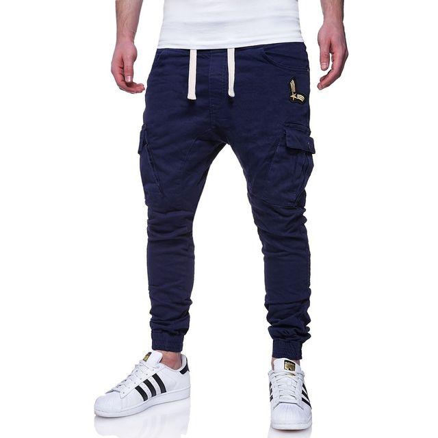 monsieurmode jogg jeans cargo pour homme jeans 94 bleu. Black Bedroom Furniture Sets. Home Design Ideas