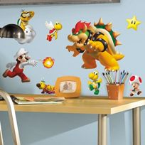 RoomMates - Super Mario Wall Stickers Parallel Import Goods To Be Able To Tear Off And Put JAPAN Import