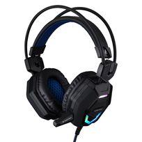THE G-LAB - Casque-micro pour gamer avec système de vibration et rétro-éclairage PC/PS4/Xbox One/Smartphone/Tablette/PS Vita