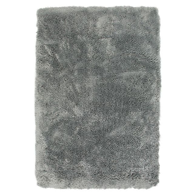 mon beau tapis tapis gris imitation fourrure extra doux 60x90cm sauvage pas cher achat. Black Bedroom Furniture Sets. Home Design Ideas