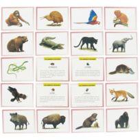 """Editions Lito - images """"les animaux sauvages"""" - boite de 100"""