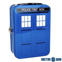 Doctor Who - Mallette Tardis Dr Who Métallique