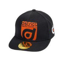 District - Casquette américaine noir casquette Noir 60446