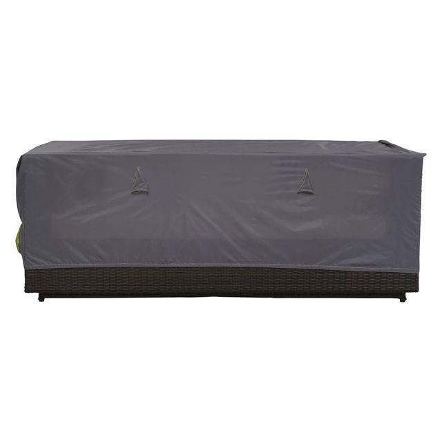 oviala housse salon de jardin 3 places gris pas cher. Black Bedroom Furniture Sets. Home Design Ideas