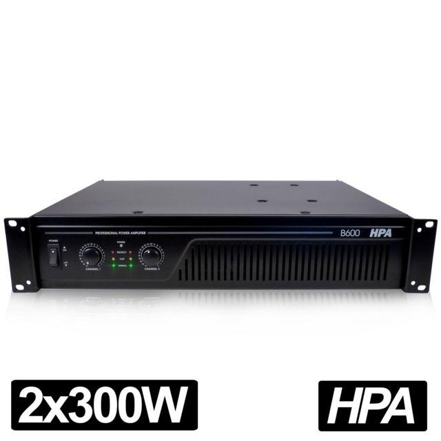 Hpa Amplificateur pro Dj Sonorisation 600W Rms