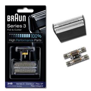 braun grille et couteau pour rasoir lectrique contour pour 5715 de marque pas cher achat. Black Bedroom Furniture Sets. Home Design Ideas