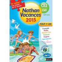 Nathan - Cahier de vacances Primaire : Du Ce2 vers le Cm1 vacances 2015 Tout en un