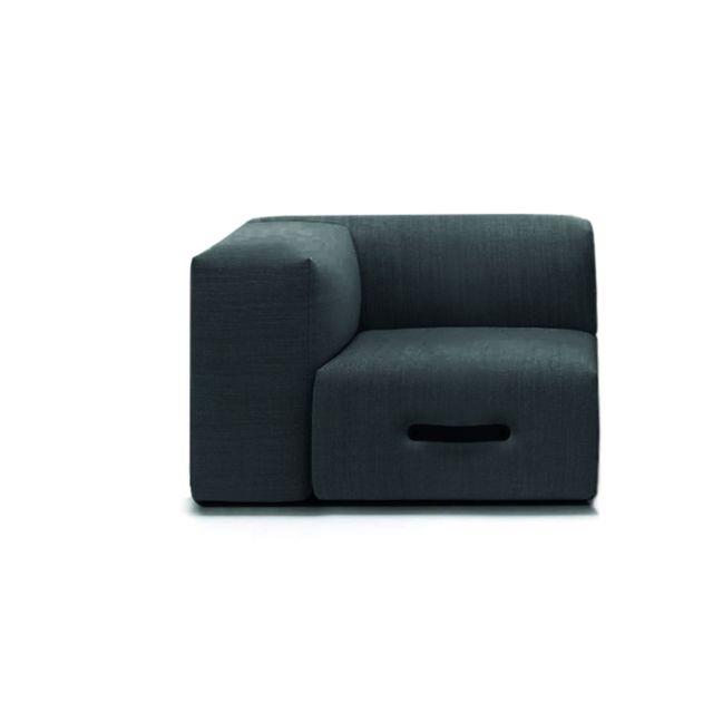 Conmoto Miami Sofa Eckmodul - gris clair - gauche
