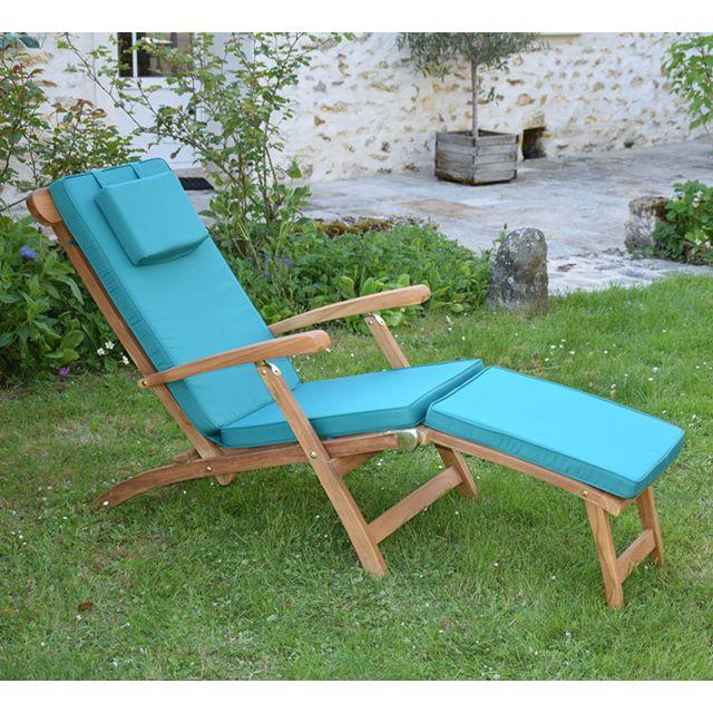 teck 39 attitude matelas vert pour chaise longue pas cher achat vente coussins galettes de. Black Bedroom Furniture Sets. Home Design Ideas