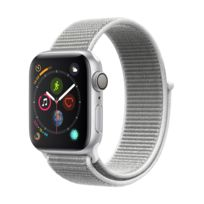 APPLE - Watch Series 4 - 40mm - Alu Argent / Boucle Sport Coquillage