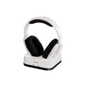 thomson casque sans fil whp3315wb blanc pas cher achat. Black Bedroom Furniture Sets. Home Design Ideas