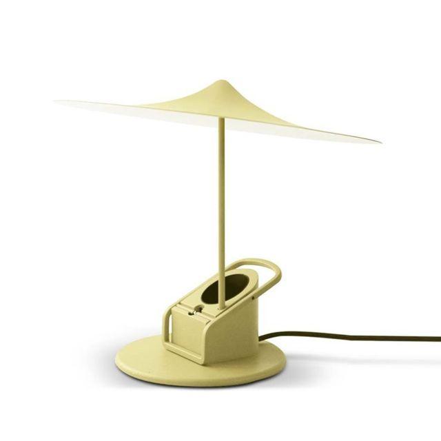 Wastberg - Sempe-lampe à poser ou à pincer Led Métal Ø19cm jaune paille Wästberg - designé par Inga Sempé