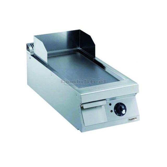 Combisteel Plancha électrique lisse Inox 900