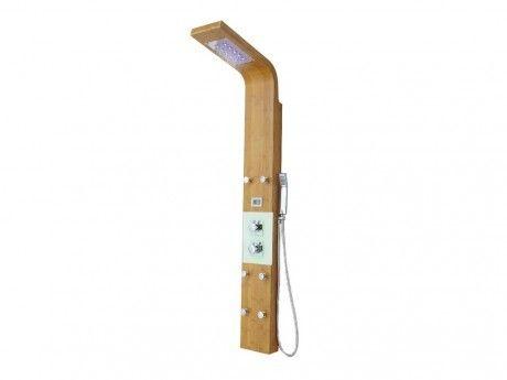 shower design colonne de douche hydromassante thermostatique emira avec 6 jets de massage. Black Bedroom Furniture Sets. Home Design Ideas