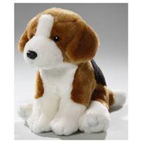 Carl Dick - Peluche Beagle assis 18cm