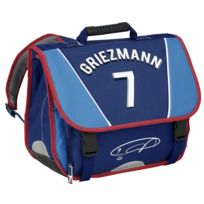 Griezmann - Cartable rouge et bleu - 1 Compartiment - L 30 cm