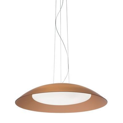 Boutica-design Suspension Lena Marron 3x60W - Ideal Lux - 066608