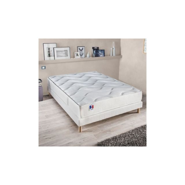 Confort Design Matelas 160 X 200 Cm - Polylatex - 23 Cm - Ferme - Gari