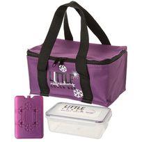 Touslescadeaux - Boite à Repas Isotherme hermétique Lunch Box - Violet