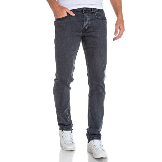 Tiffosi - Jean homme noir tapered fit Tyler - pas cher Achat   Vente ... 156d47ee073a