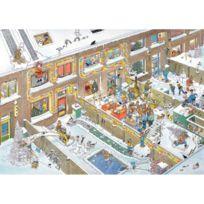 Jumbo - Puzzle 2000 pièces : Réveillon de Noël, Jan Van Haasteren