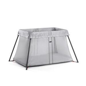 babybjorn lit parapluie light argent pas cher achat. Black Bedroom Furniture Sets. Home Design Ideas