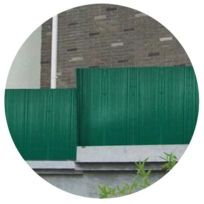 JET7GARDEN - Canisse en PVC vert double face
