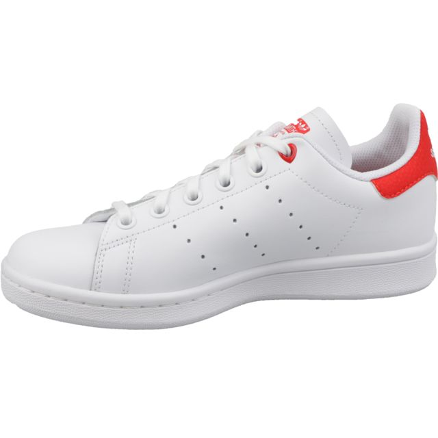 Adidas Stan Smith J G27631 Blanc pas cher Achat Vente