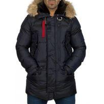 Beststyle - Manteau doudoune homme marine chaud stylé