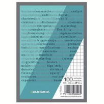 Aurora - Blocs-notes A6 Quadrillé 5x5 - Lot de 10