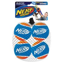 Nerf Dog - Lot de 4 balles tennis Blaster