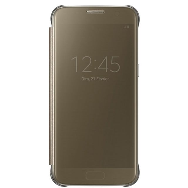Samsung Clear View Cover Galaxy S7 - Or