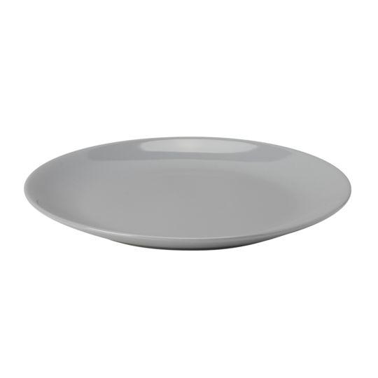 c8e92bf18f76d Service à vaisselle 18 pièces - Faïence - Gris pas cher au Meilleur Prix
