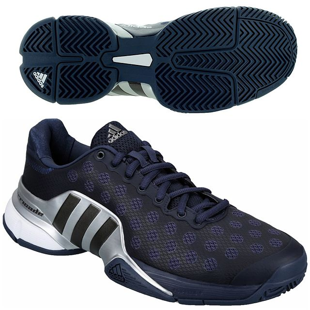 Adidas Performance Chaussures Tennis Barricade 2015 Marine