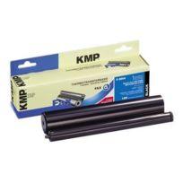 Kmp - F-sh4 - 1 - Schwarz - 220 mm x 50 m - Farbband entspricht: Sharp Ux-6CR für Sharp Nx-a550, P500, Ux-a450, P100, P400, S10