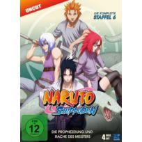 Ksm GmbH - Naruto Shippuden - Season 6 IMPORT Allemand, IMPORT Coffret De 4 Dvd - Edition simple