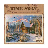 Master Pieces - Puzzle 1000 pièces : Le paradis de l'hiver