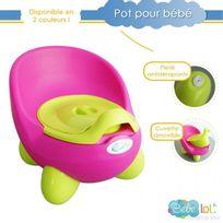 Bebe Lol - Pot bébé toilette bébé aux couleurs vives ! Coloris au Choix rode, Bébélol