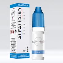 Alfaliquid - E-liquide saveur classic Fr-w 10ml Genre : 0 mg