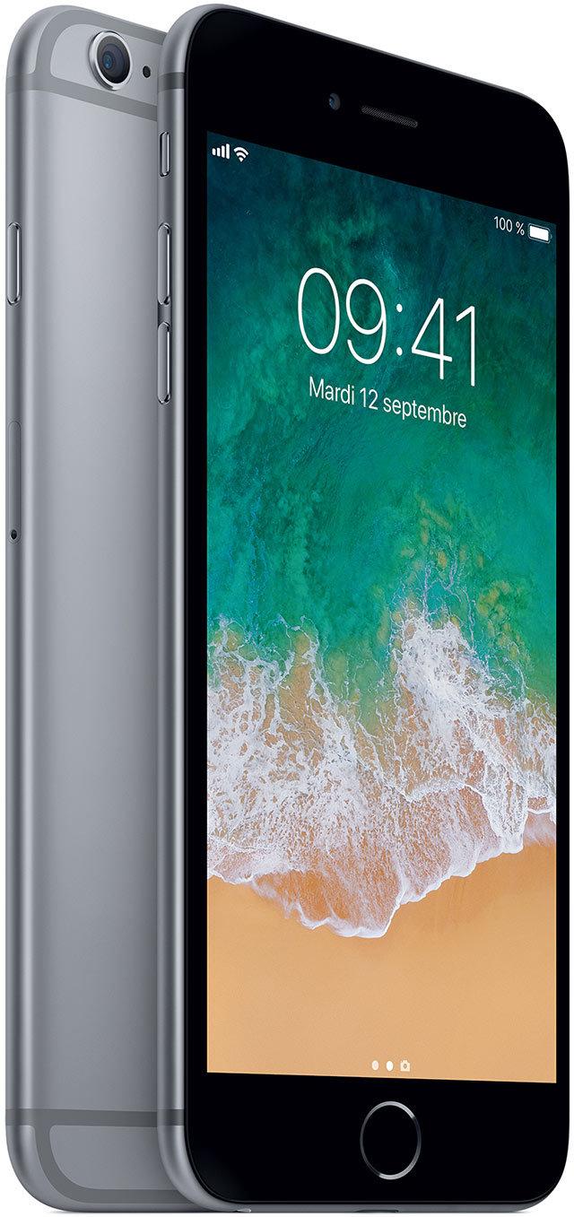 apple iphone 6s plus 128 go mkud2zd a gris sid ral. Black Bedroom Furniture Sets. Home Design Ideas