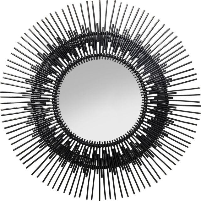 Karedesign Miroir Icario noir 90cm Kare Design