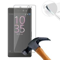 Cabling - Film Protecteur d'écran en Verre Trempe pour Sony Xperia Xa Ultra Ultra Transparent Ultra Résistant Inrayable Invisible pour smartphone Sony Xperia Xa Ultra 6