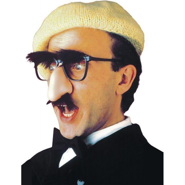 Widmann Lunettes avec Nez, Moustache et Sourcils Adulte