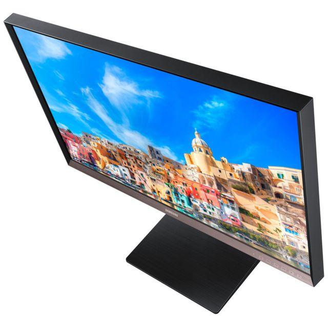 Samsung S27D850T Le design de pointe du SD850T permet de maximiser la productivité de votre espace de travail et le rend pratique et confortable.