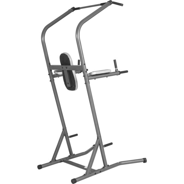 Gorilla Sports - Station de traction - Chaise romaine - Power Tower Deluxe Gs038